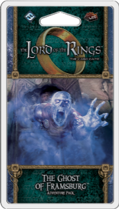 Lord of the Rings : The Card Game - The Ghost of Framsburg Adventure Pack